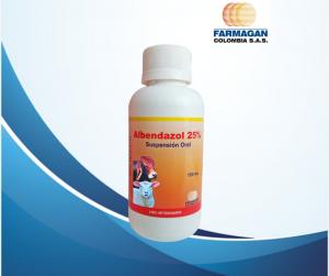 Albendazol 100