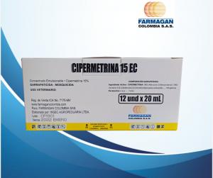 Cipermetrina 15 caja