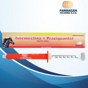 Ivermectina+Praziquantel Equino PRESENTACION JERINGA DOSIFICADORA X 6.42 g